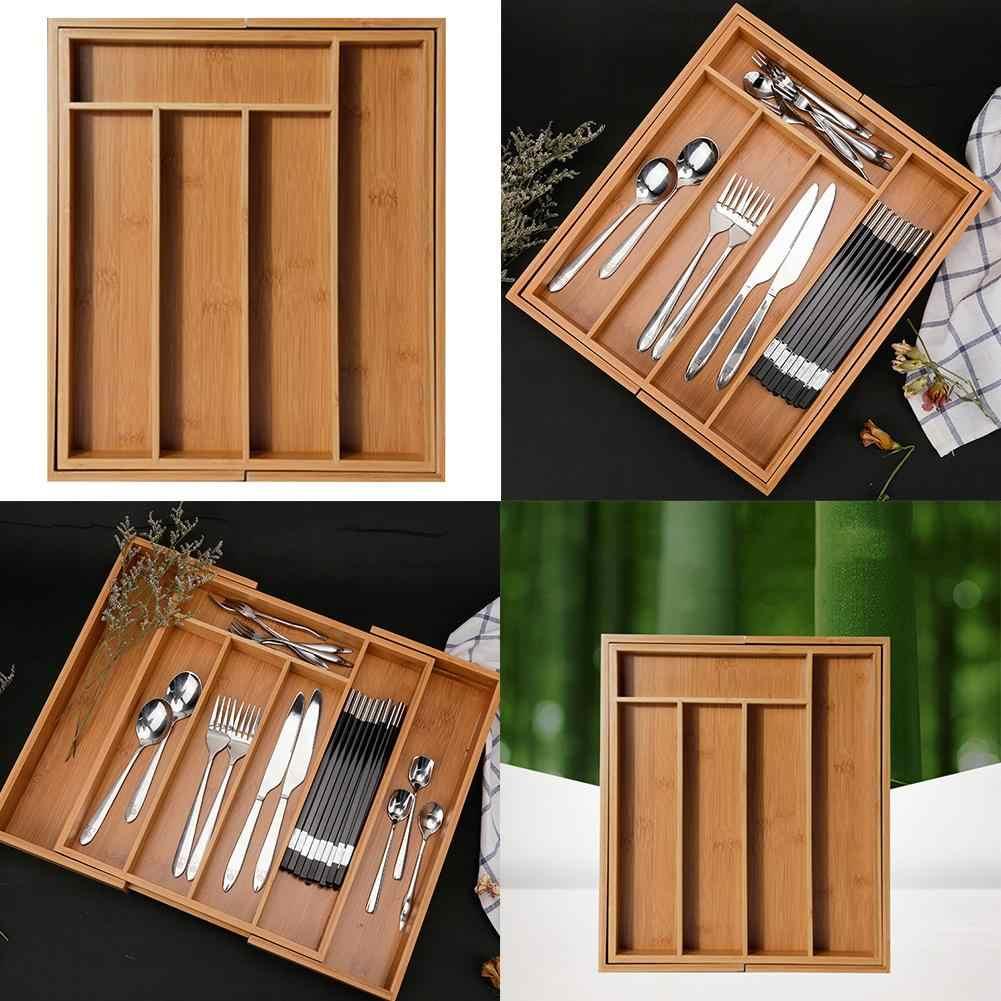 Detail Feedback Fragen über Erweiterbar Besteck Bambus Schublade ...