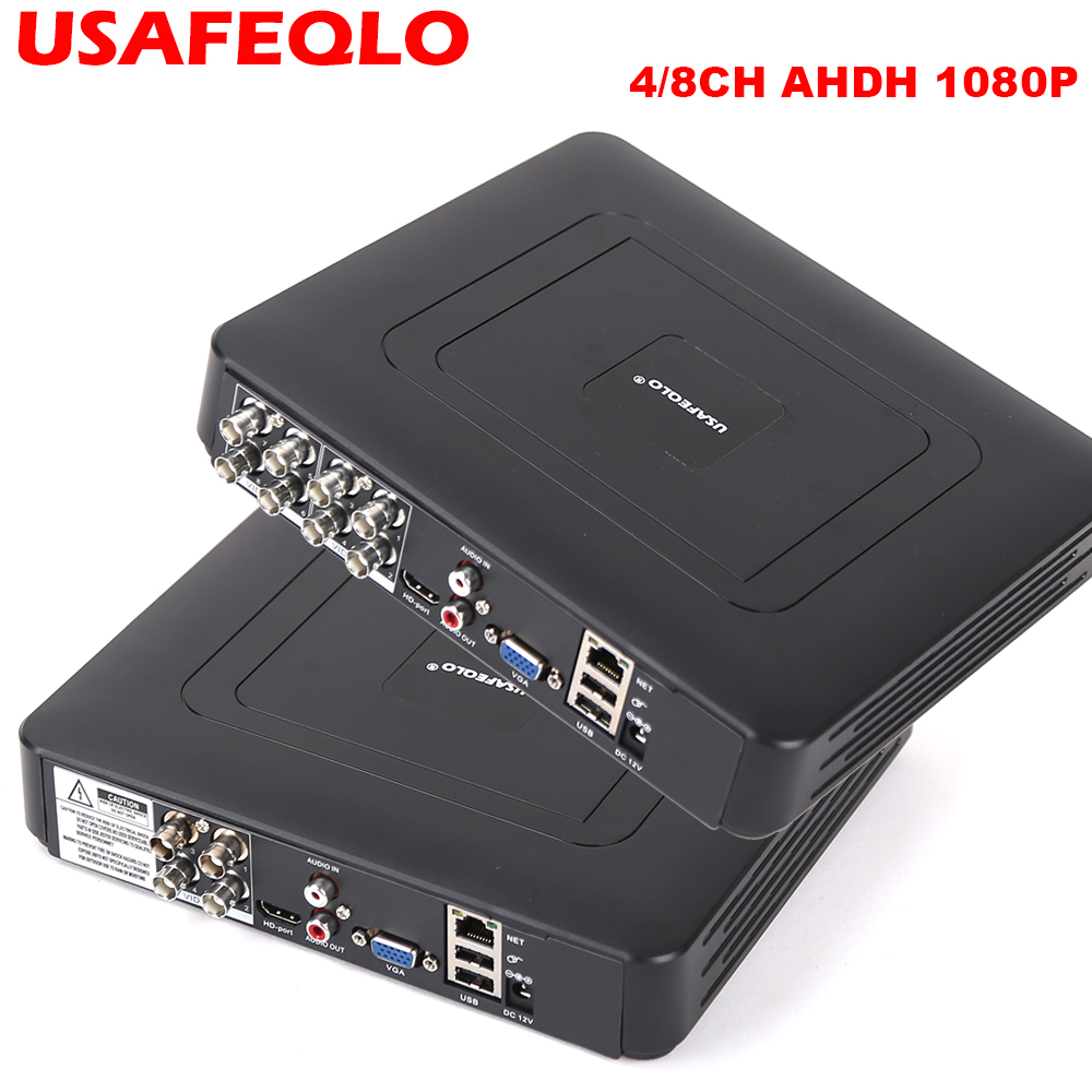 New Arrival 1080P AHD H 4 8 Channel AHD DVR Recorder Video Recorder 8 Channel AHD