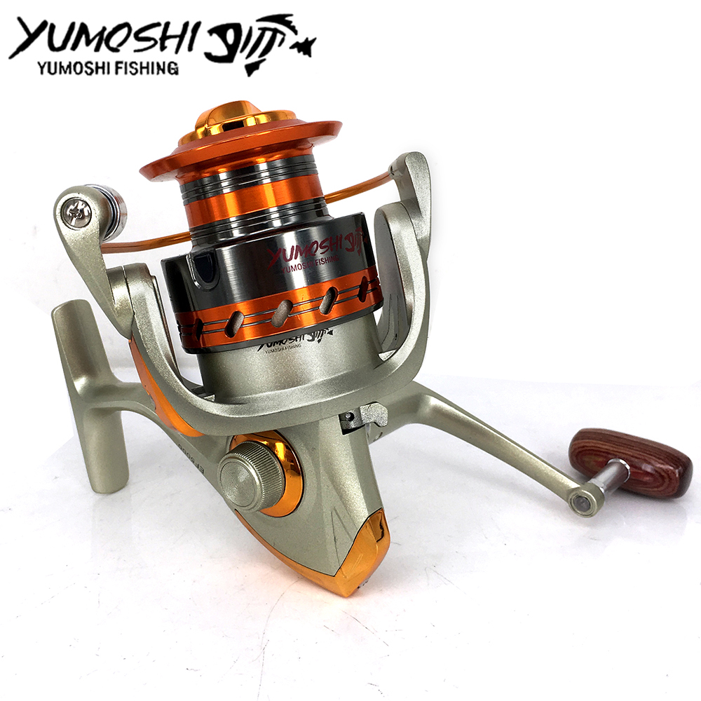 Cheap spinning reels 12ball bearing 5 2 1 4 1 1 gear for Discount fishing reels