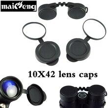 Professional 10×42 линзы для бинокля шапки цель защитный резиновый чехол окуляра пылезащитный костюм для компактный бинокль Best защиты