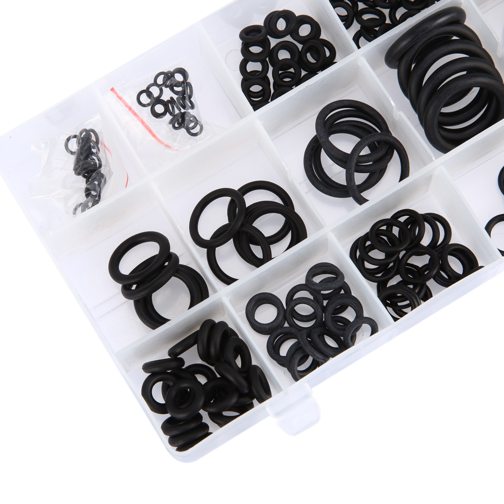 Air or Gas Connections Automotive Repairs Mechanic Rowiz 225pcs Rubber O-Ring Sealing Gasket Washer Seal Assortment Set for Professional Plumbing