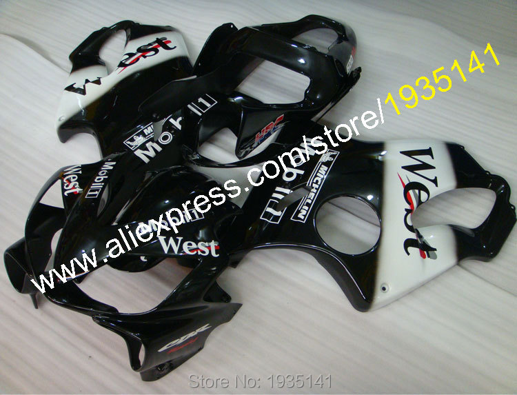 Hot Sales,For Honda CBR600F4i 01 02 03 CBR600 F4i 2001 2002 2003 Parts CBR F4i 600 West Motorcycle Fairing (Injection molding) gray moto fairing kit for honda cbr600rr cbr600 cbr 600 f4i 2001 2003 01 02 03 fairings custom made motorcycle injection molding