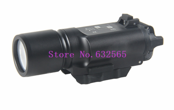 ФОТО SF X300 Ultra LED Weapon Light Tactical LED Flashlight For Hunting Weapon Gun