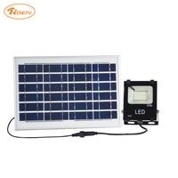 Renepv solar led outdoor light 8W panel for 48led floodlight wall mount lighting kit RDWP 10W