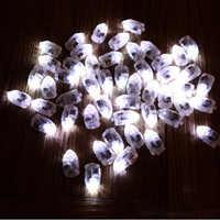 100 pièces Led boule lampes ballon lumières fée lumières lune étoilé chaîne lumières pour la maison de mariage fête décoration artisanat Costume