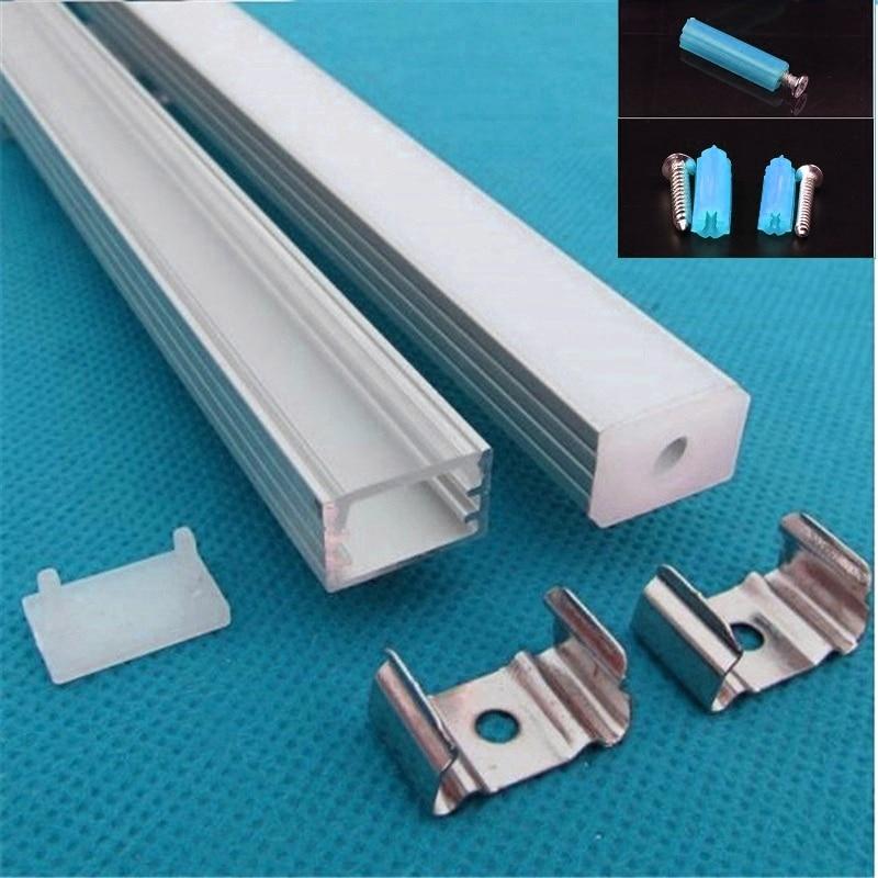 5 30pcs lot 40inch 1m led bar light housing led aluminium profile for 12mm pcb led