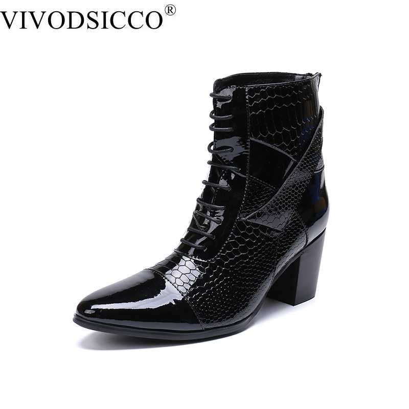 Black Pointed toe Double Metal Buckles Stiletto Heels