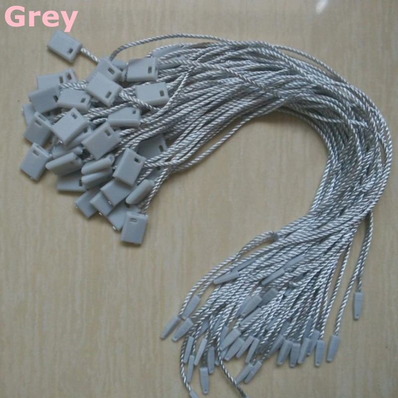 500 pcs/lot Strong polyester seal string for tags rope clothing Hang ...