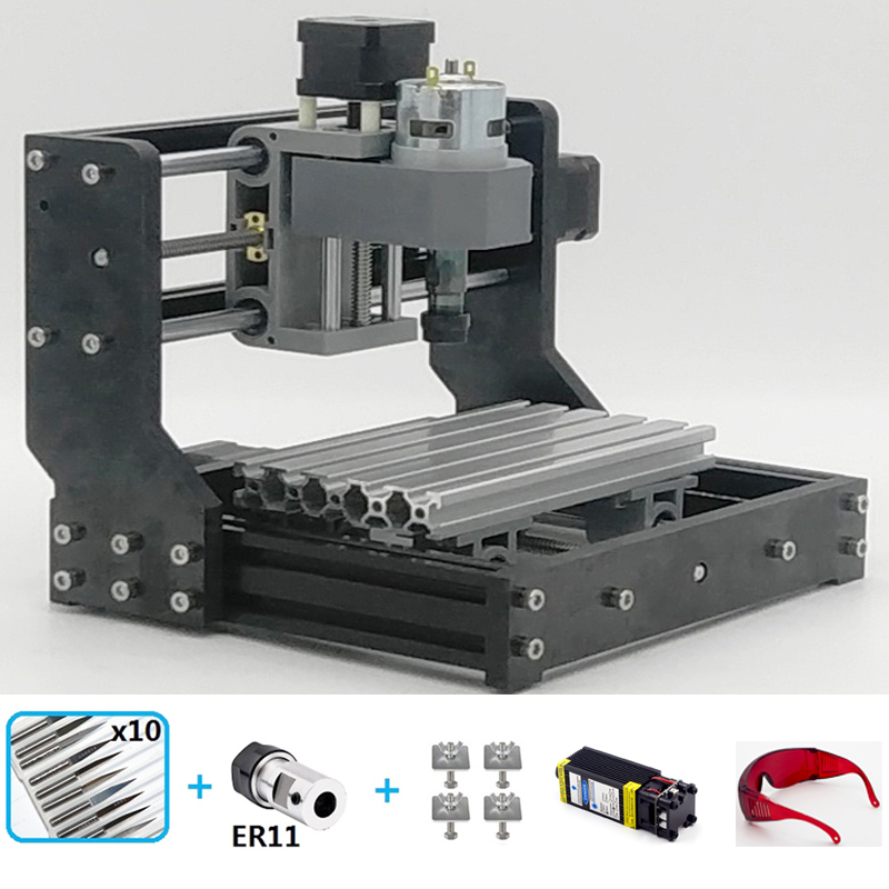CNC1810 Laser Engraving Machine Mini Wood CNC Router Hobby ...