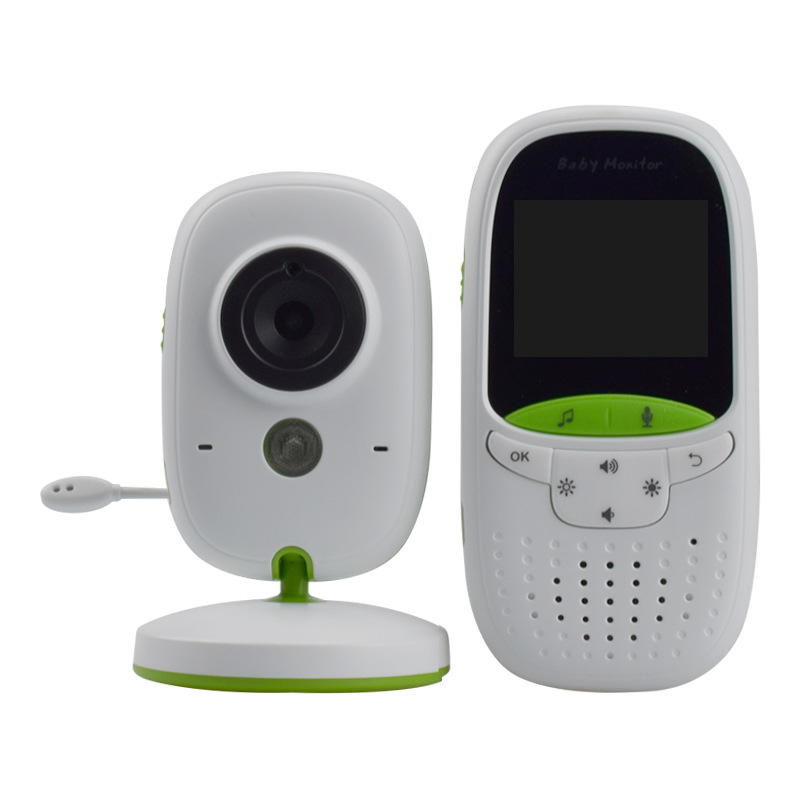 цена на Wireless Baby Monitor 2.0inch LCD Electronic Portable Intercom Camera Multi-language Support Walkie Talkie Babysitter VB602