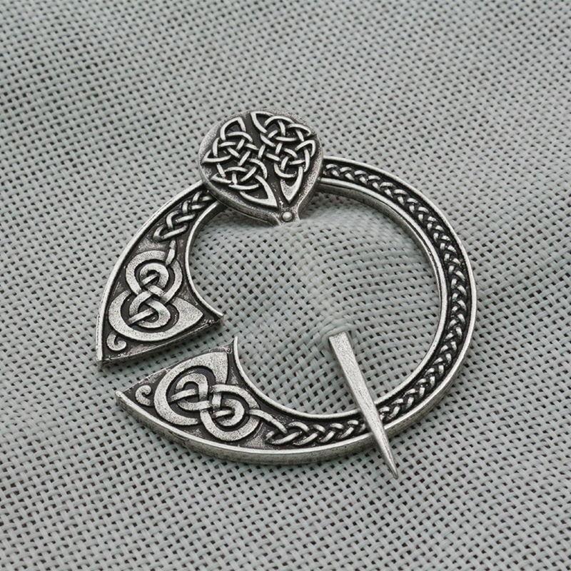 Viking Brooches Pins for Women Vintage Accessories Cloth Cloak Brooch Replica Viking Jewel