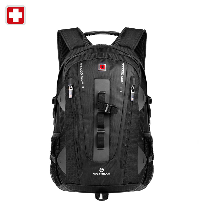 320e883c49 Swisswin travel laptop backpack for 15.6 inch notebook business bag brand  swiss multi use bagpack waterproof backpack case brand-in Backpacks from  Luggage ...