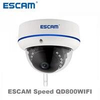 ESCAM Speed QD800WIFI 2MP Wifi Outdoor IP IR Dome Camera IP66 Waterproof Onvif P2P Wireless Night