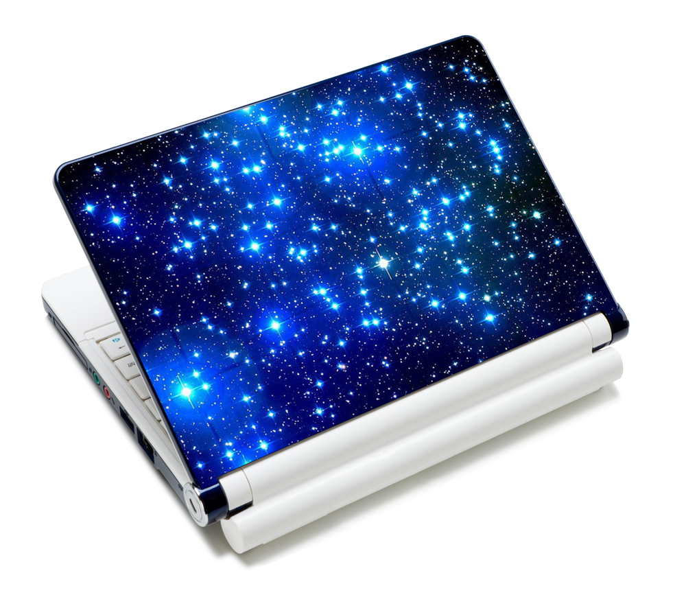 Galaxy Prints 11.6 1213.3141515.415.6 Laptop Skin Decal Sticker Cover PVC Prints Notebook PC Reusable Screen Protector