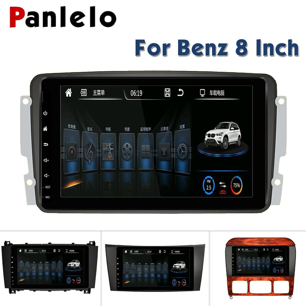 Panlelo For Mercedes Benz Autoradio Android 6.0 for clk w209 Car DVD GPS E Class Bluetooth