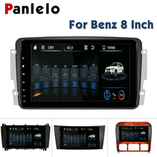 Panlelo For Mercedes Benz Autoradio Android 6.0 for clk w209 Car DVD GPS E Class Bluetooth