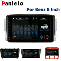 Panlelo For Mercedes Benz Autoradio Android 6.0 for Mercedes Benz clk w209 Car DVD GPS for Mercedes Benz E Class Bluetooth GPS