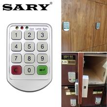 купить Smart password lock storage cabinets electronic lock drawer file cabinet electromagnetic lock the wardrobe door lock по цене 507.37 рублей