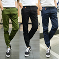 2017 exercise mens joggers outside sweatpants K005 closing spring Japanese retro pants male taxi fertilizer XL slack
