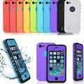 For iPhone 5C Case Waterproof Shockproof Dirt Snowproof Durable Smart Phone Cases For iPhone 5C Stand Cover
