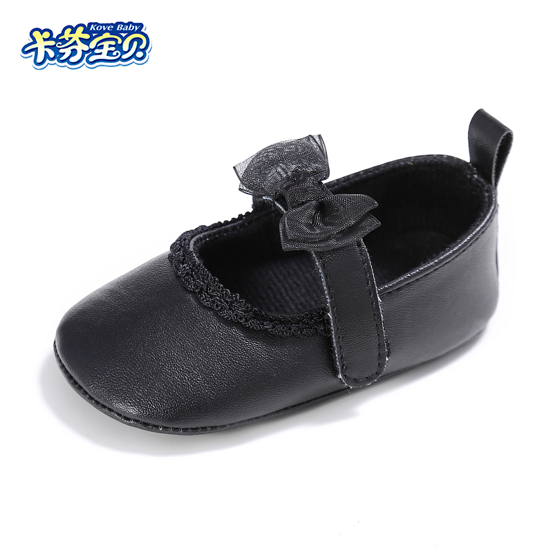 Baby Shoes PU Leather Newborn Girls Shoes First Walkers Baby Moccasins Crib shoes Toddler Girl Butterfly-knot Shoes 0-18 Months