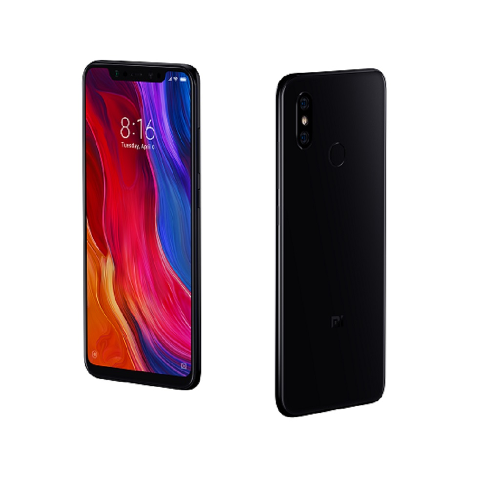[Version Espanola] Smartphone Xiao mi mi 8 de 6.21 (Android, memoria interna de 64 GO, RAM de 6 GB, Camara trasera de 20 MP)