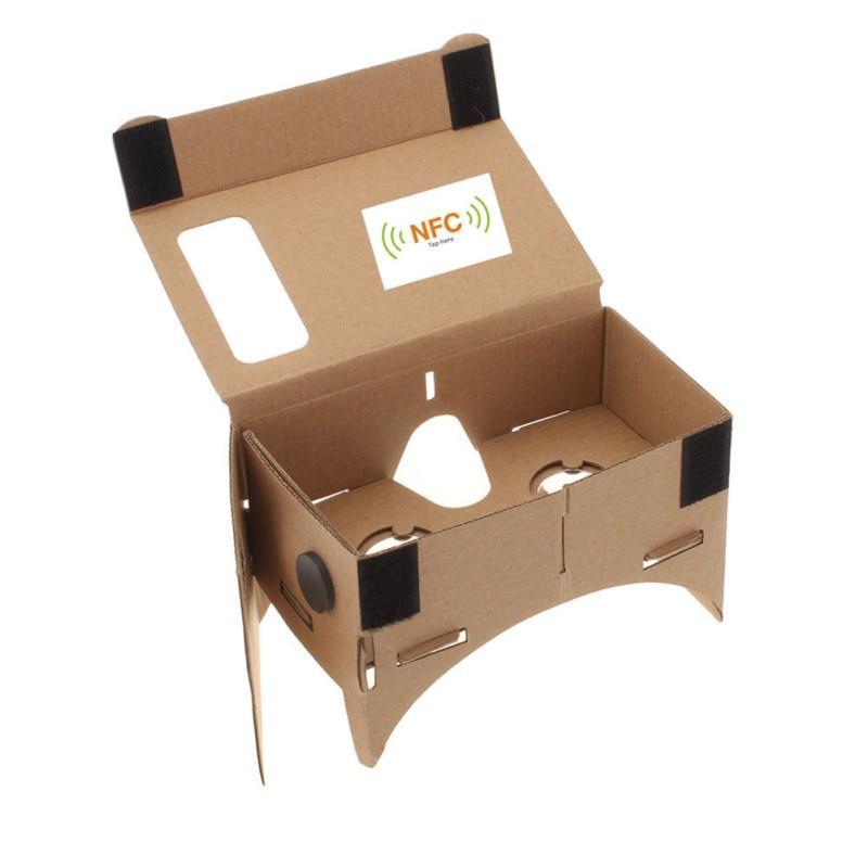 Hot DIY Cardboard 3D VR Virtual Reality Glasses For Google Nexus 4/5 For Samsung