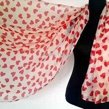 10 шт./лот Любовь Сердце печати шарф платок Обёрточная бумага для мамы день Святого Валентина подарок Для женщин Интимные аксессуары