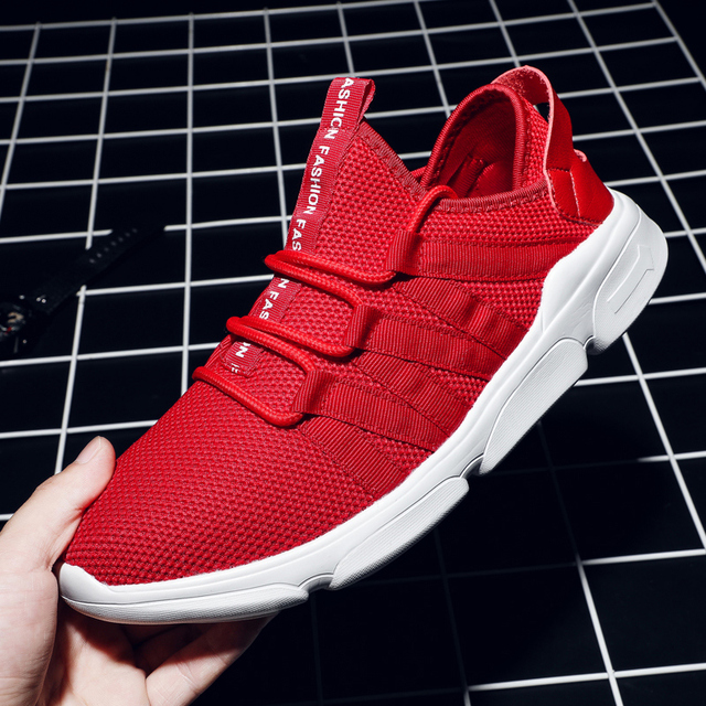 Кроссовки для мужские кроссовки 9908 большой размер 39-48 Красный Спортивная обувь Для мужчин Спортивная обувь для бега Мужской Обуви Тренер Мужская обувь
