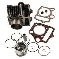 Pistão do cilindro Junta Motor Reconstruir Kit Fit Honda ATC70 TRX70 XR70 CRF70 70CC