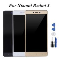 For Xiaomi Redmi 3 Display LCD Display Touch Screen Digitizer Assembly With Frame For Xiaomi Redmi