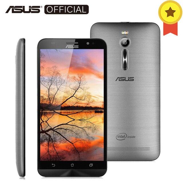 """Оригинальный Asus Zenfone 2 ze551ml 4 ГБ Оперативная память 64 ГБ Встроенная память 5.5 """"Intel Atom z3580 2.3 ГГц сотовые телефоны android 5.0 13.0mp 4 г мобильного телефона"""