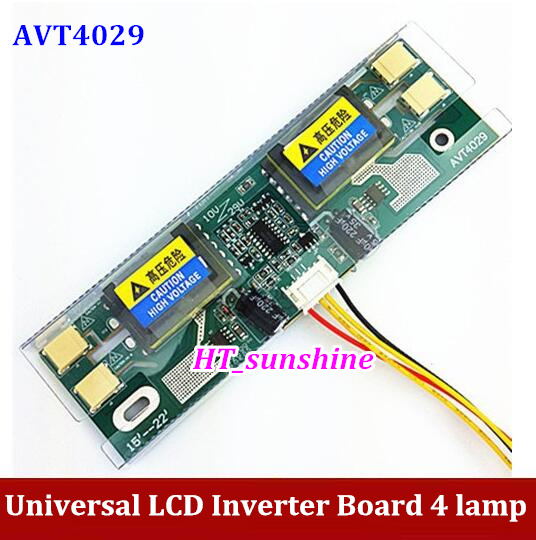 Marke NEUE AVT4029 PC LCD MONITOR CCFL 10 V-30 V 4 LAMPE LCD universal wechselrichter