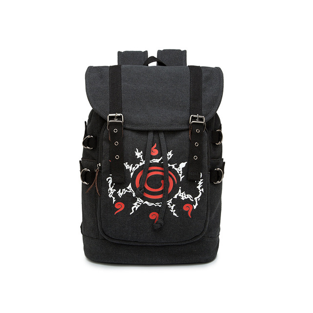 Anime Naruto Ninja Hokage Sharingan Backpack