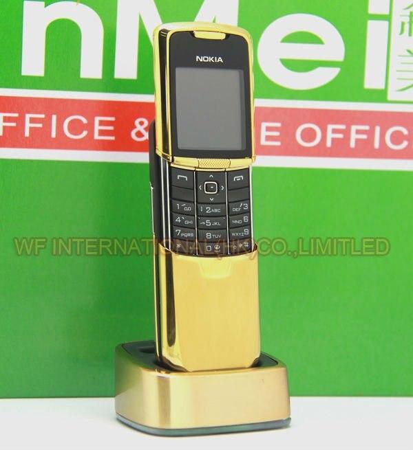 Цена за Оригинальный Nokia 8800 Classic Mobile Phone 2 Г GSM Unlcocked 8800 Русский Арабский Английский Клавиатура ЗОЛОТО Восстановленное
