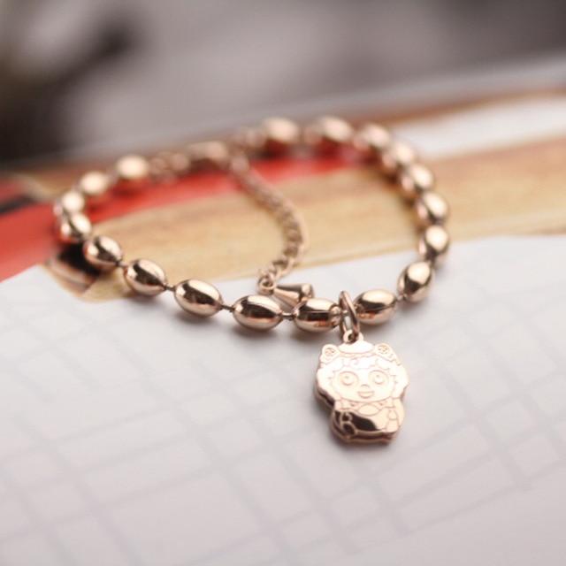 2017 alibaba express hot sale bracelets for women lady beads cute
