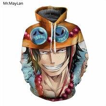 Japan Classic Anime One Piece 3D Print Luffy Hoodies Men Women Pullover Hooded Sweatshirts Hip Hop Streetwear Unisex Clothes