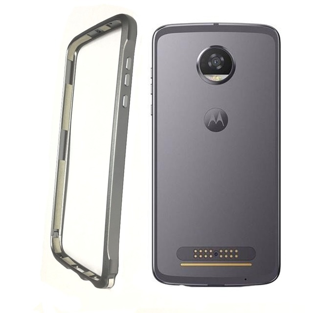 US $9 89 10% OFF|bumper for motorola moto Z2 play phone protection frame  ,aluminum alloy ,compatible moto mods,Built in cotton, shockproof design-in