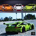 726 ШТ. DECOOL 3368 техника серии 911 GT3 RS Модель Строительство Комплекты мини Блоки Кирпичи Совместимость 42056 Лепин 20001 DIY