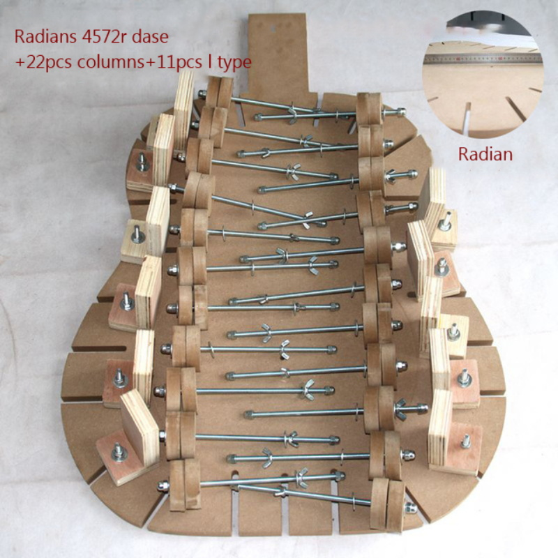 Guitar Making Special Mold Adhesive Making Guitar Body Mould Homemade Guitar Body Tools High density Board Iron Making Tools
