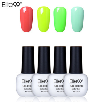 Elite99 Soak off Gel Basis Top Mantel Matte Top Gel Polish Nagel Gel Lack 8ML Maniküre Lang Anhaltende 4 teile/satz Farbe Gel