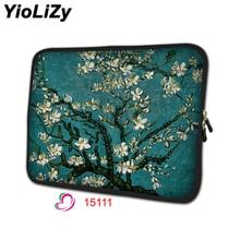 Cherry дерево сумка для ноутбука защитный чехол тетрадь лайнер рукав 7 10 12 13 14 15 15,6 дюймов 17 дюймов компьютер планшеты чехол NS-15111