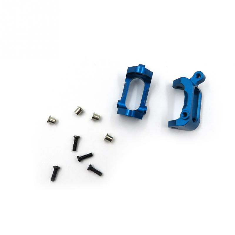 Original New Metal Spare Parts Door Shape Base Seat M2.5*8 Screws For Wltoys RC Car A959 Accessories Blue