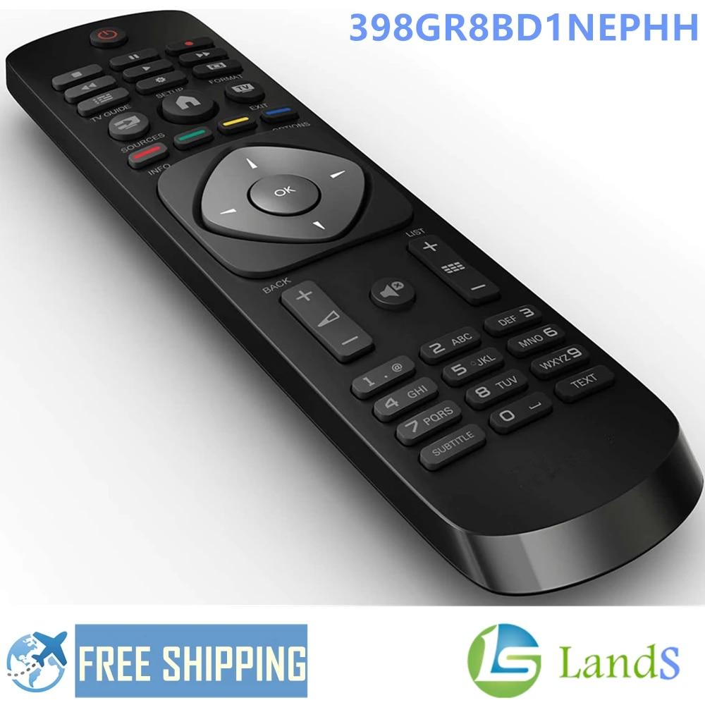 Telecommande pour Philips 32PFS4132//12 32PFT4100 32PFT4100//12 32PFT4101 Neuf
