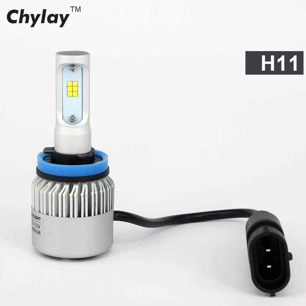 2Pcs Led Headlight BulbH7 H1 LED H4 H11 H3 H8 HB4 HB3 9005 9006 Car Light Bulbs 8000lm 6500k CSP Chips Auto Fog Light Headlamp