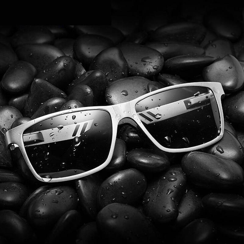 Aluminium magnesium mäns solglasögon polariserad beläggningsspegel - Kläder tillbehör - Foto 4