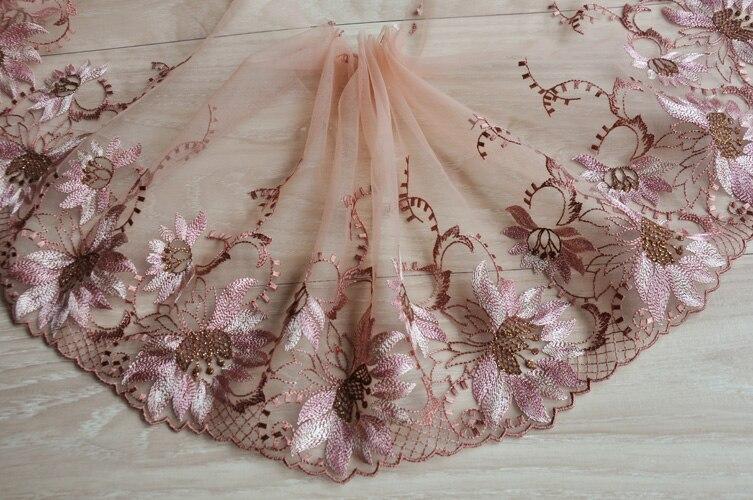 5 Meter Pink Lace Trim