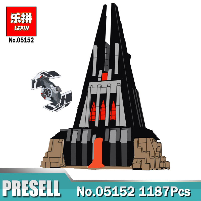 Lepin 05152 Wars in Star The Darth Vader`s Castle Set compatible Legoing 75251 Building Blocks for Kids Christmas Birthday Gifts
