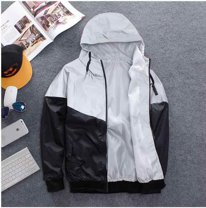 2019 Yeni y-3 anorak 3 m yansıtıcı ceket rüzgarlık erkek kadın jaqueta streetwear hip hop bombacı ceket marka giyim
