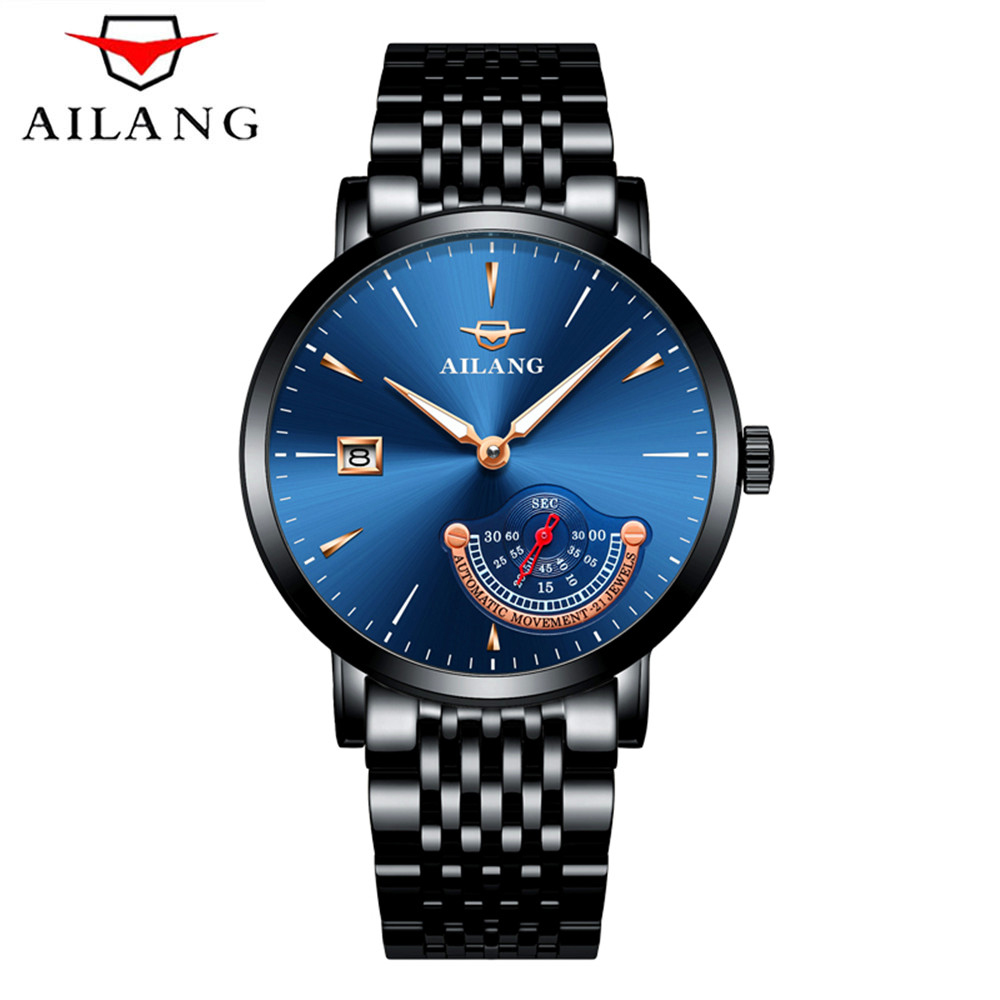 2017 AILANG Brand Men Mechanical Watch Automatic Role Date Fashione luxury Machinerie Clock Male Reloj Hombre Relogio Masculino2017 AILANG Brand Men Mechanical Watch Automatic Role Date Fashione luxury Machinerie Clock Male Reloj Hombre Relogio Masculino